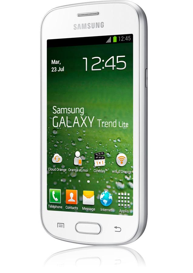 Samsung galaxy trend lite blanc appareil photo 3 mpxls - Protection galaxy trend lite ...