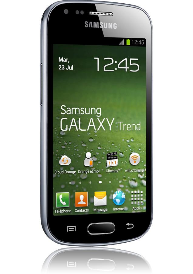 Samsung Galaxy Trend Noir Reconditionn 3g Apn 5 Mpxls