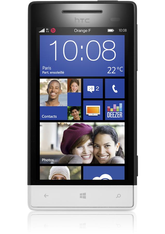 mobile htc windows phone s noir blanc rec
