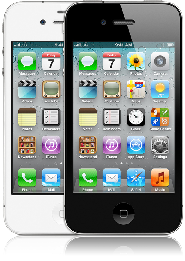 iphone 4 8go noir reconditionn nouvel iphone orange mobile. Black Bedroom Furniture Sets. Home Design Ideas