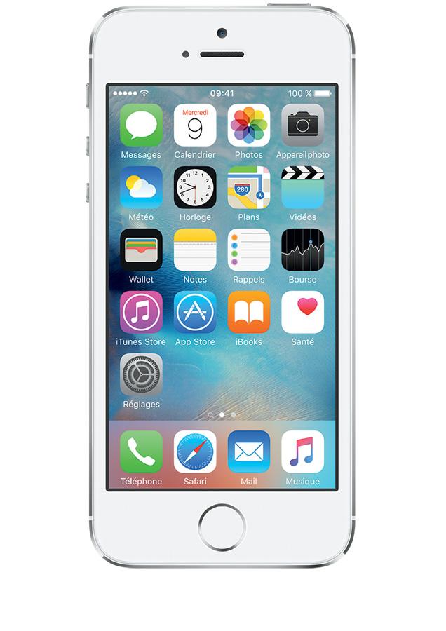8f5e9e1ec490 iPhone 5s 16 Go Argent - avis, prix avec forfait, caractéristiques