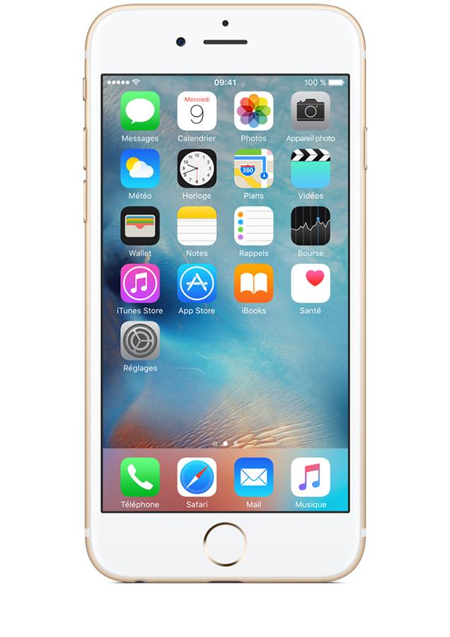 apple iphone 6s or 32go avis prix avec forfait caract ristiques sosh. Black Bedroom Furniture Sets. Home Design Ideas