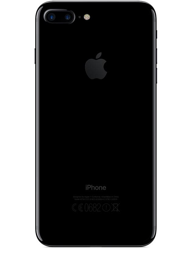 iphone 7 plus noir orange