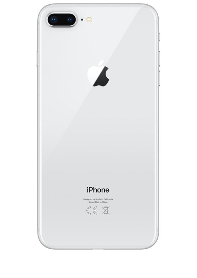 coque iphone 8 plus argent