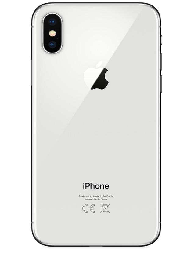 coque iphone x argent