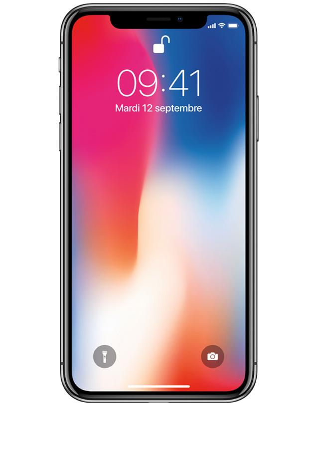 L iPhone X Gris sidéral 64Go - Dites bonjour au futur - sosh.fr 090321fe19f4