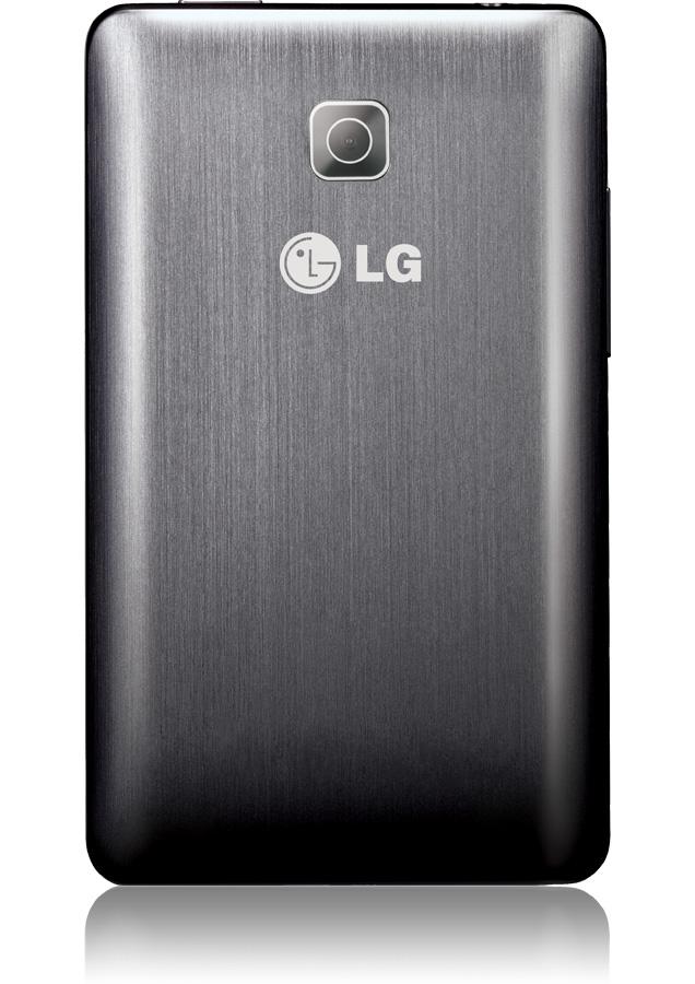 smartphone LG Optimus L3 II titanium, android