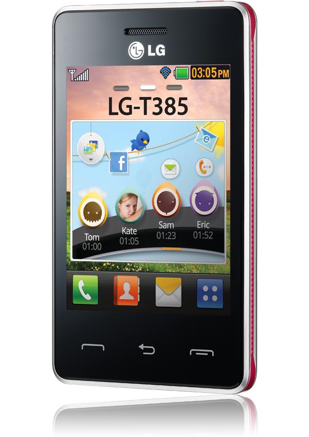 application lg-t385
