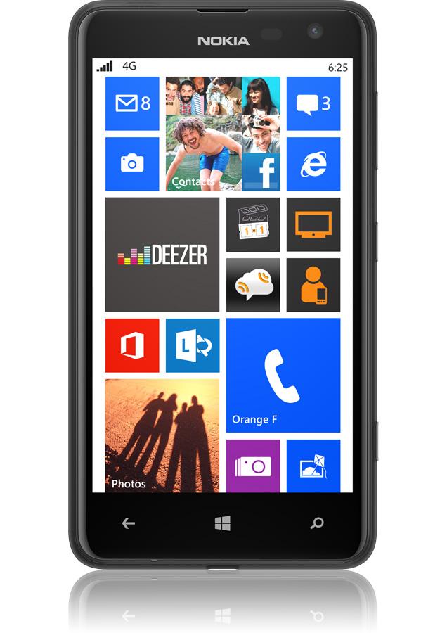 Nokia lumia 625 noir smartphone 4g 233 cran de 4 7 quot windows phone 8