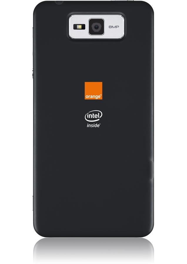 orange intel inside nouveau smartphone orange orange. Black Bedroom Furniture Sets. Home Design Ideas