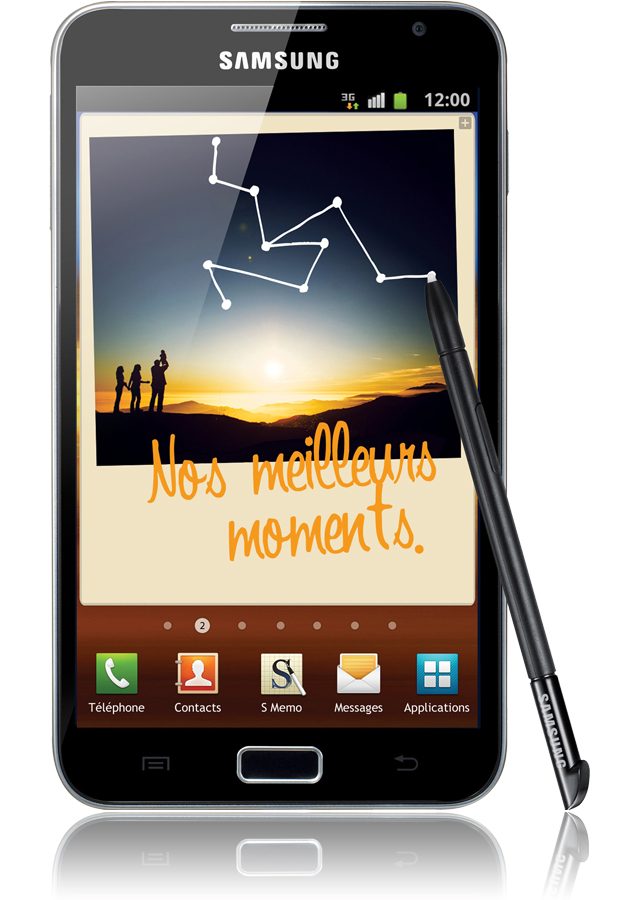 samsung galaxy note reconditionn ecran hd super amoled 5 3 pouces android. Black Bedroom Furniture Sets. Home Design Ideas
