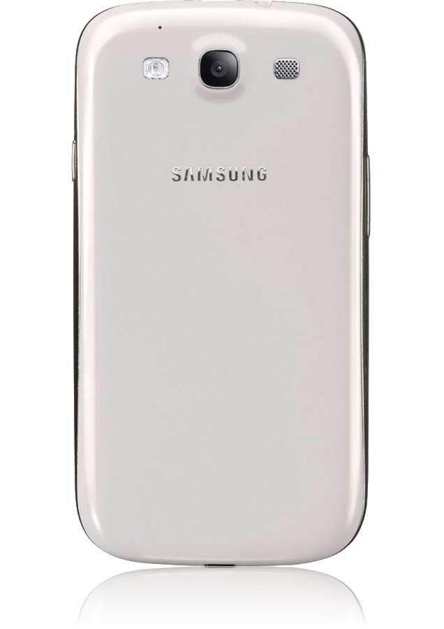 samsung galaxy s3 blanc smartphone android 4 0 ics orange mobile. Black Bedroom Furniture Sets. Home Design Ideas