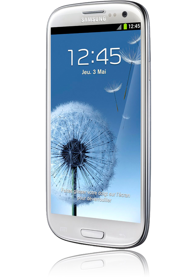 mobile samsung galaxy s blanc