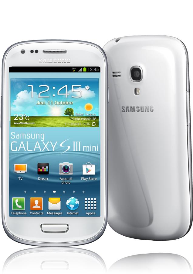 Samsung Galaxy S3 Mini Silver