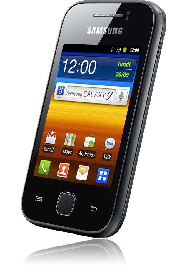 samsung galaxy y noir reconditionn le nouveau smartphone par samsung orange mobile sosh mobile. Black Bedroom Furniture Sets. Home Design Ideas