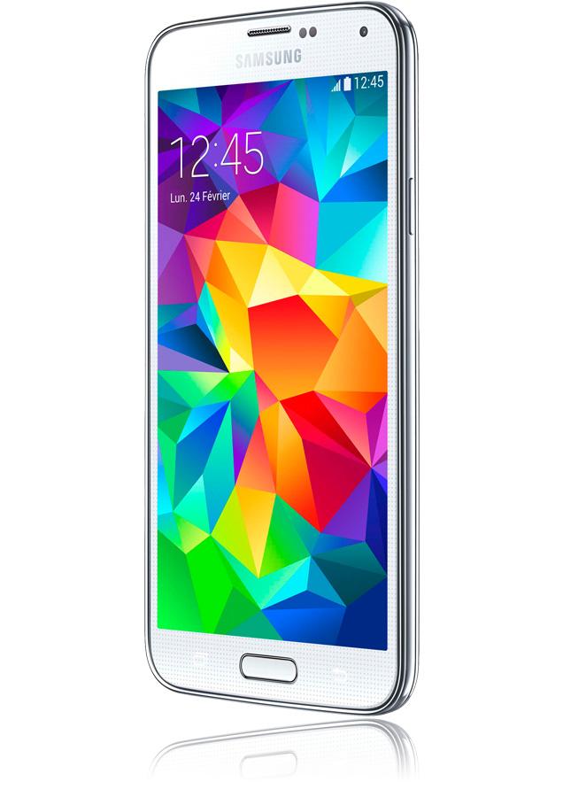 Samsung Galaxy S5 4G+ blanc-téléphone mobile 4G+-apn 16 Mpxls-écran ... 058f96ca5849