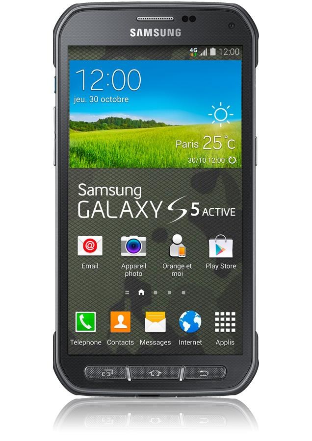 samsung galaxy s5 active camouflage smartphone 4g cran 5. Black Bedroom Furniture Sets. Home Design Ideas