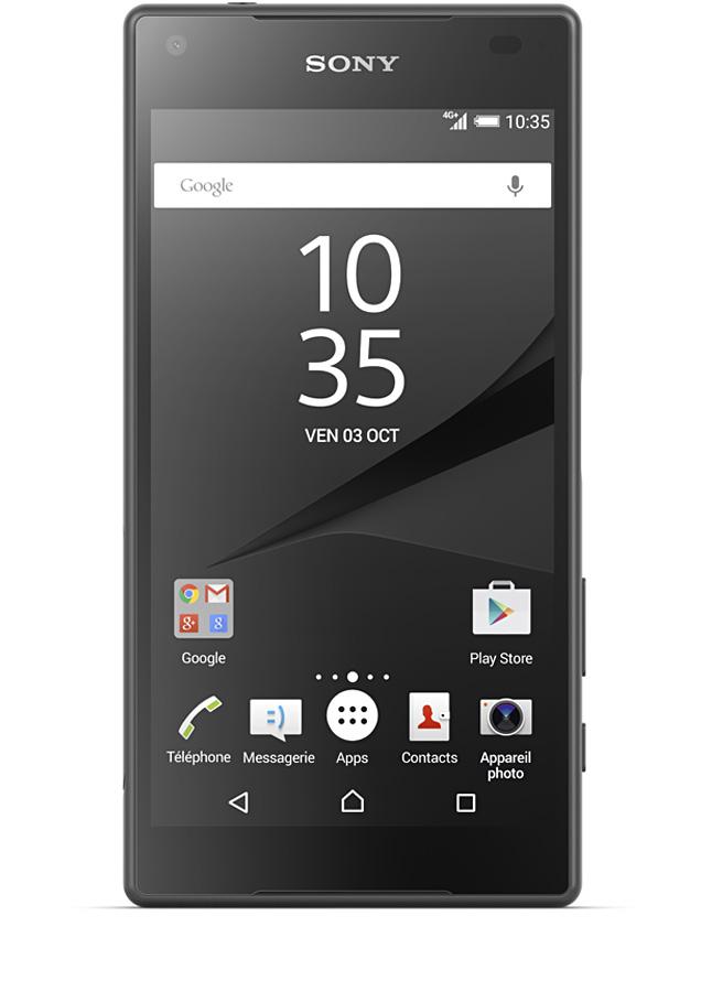 Sony Xperia Z5 noir - avis, prix, caractéristiques 84754e1dad98