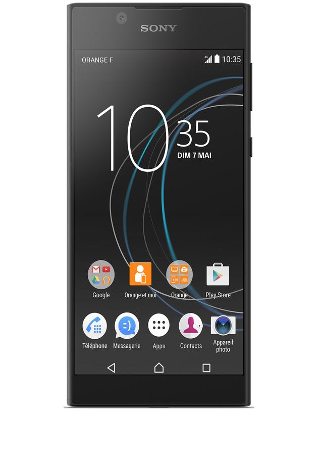 Nowoczesna architektura Sony Xperia L1 Noir - Avis, prix et caractéristiques ZN09