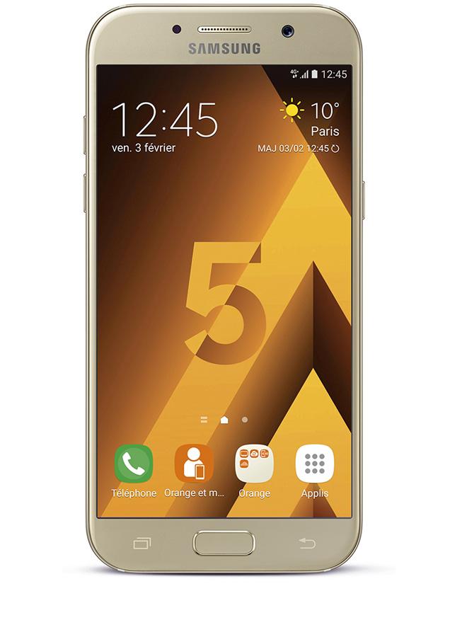 Samsung Galaxy A5 2017 or - Avis, prix et caractéristiques dc88272ee35