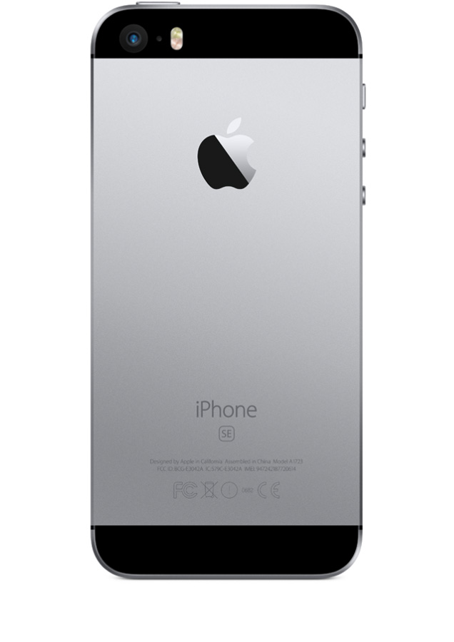 Apple Iphone Se  Go  Gris Sideral
