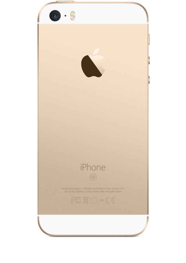 Iphone se neuf 64go or