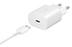 Chargeur Secteur USB-C 25W Samsung et Cable USB-C