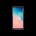 Coque silicone Samsung Galaxy S10plus bleu - vue 1