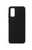 Coque Touch Silicone pour Samsung Galaxy S20 Noire