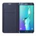 Etui Wallet S6 Edge Plus Noir-vue2