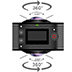 GoXtreme-FullDome360-Side-Lens