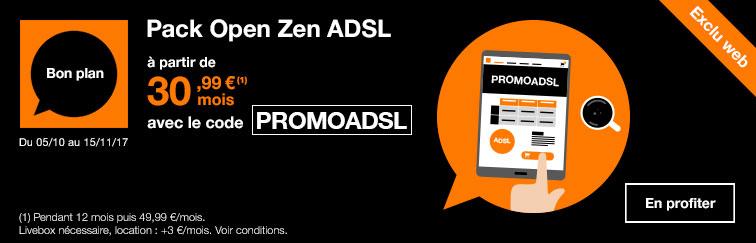 nouveaux clients abonnement mensuel livebox zen adsl tv t l phone pendant 12 mois. Black Bedroom Furniture Sets. Home Design Ideas