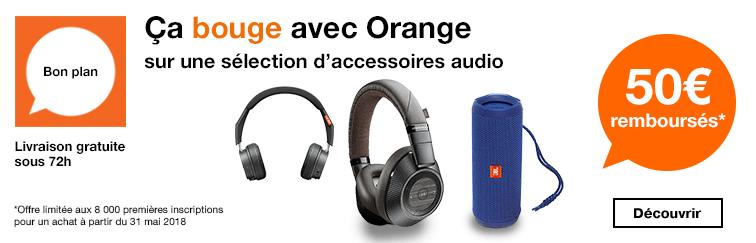 Banniere HP Accessoire ODR 50e Ca bouge Accessoires audios