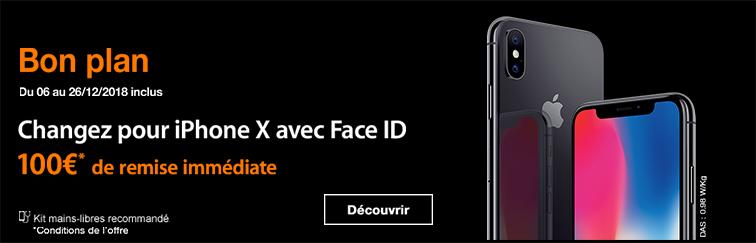 iPhone X ODR 100€