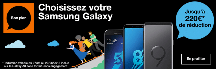 Une sélection de Samsung Galaxy