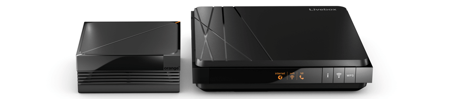 Livebox 4 Décodeur TV UHD Enregistreur