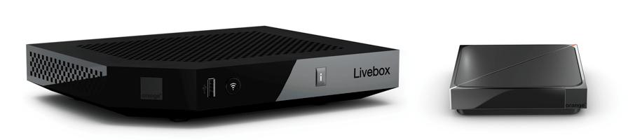 Livebox Play Decodeur TV UHD