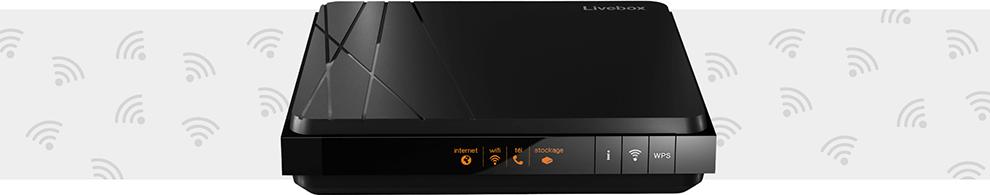 box internet Livebox 4 pour Boîte Sosh Fibre et ADSL