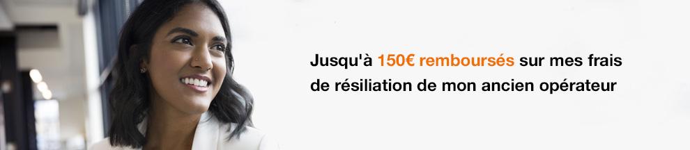 Jusqu'à 150 euros remboursés