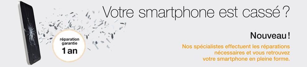 Orange répare votre smartphone cassé