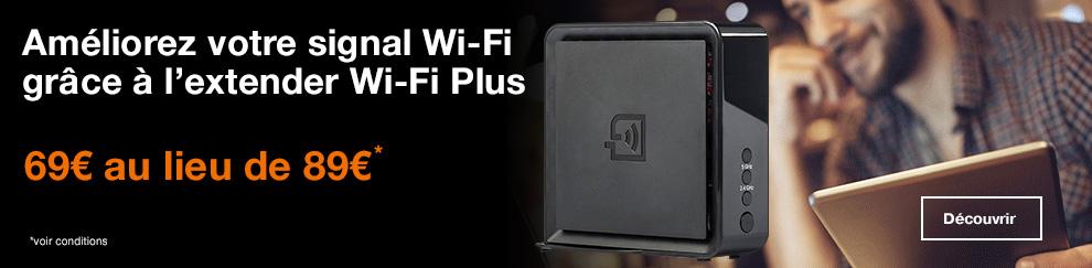 Banniere Wifi Extender Plus HP N-1