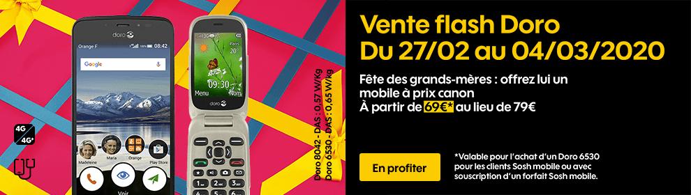 Vente flash Doro à partir de 69€* au lieu de 79€