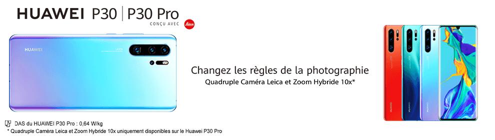 Huawei P30/P30 Pro - Commande