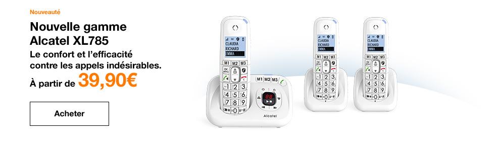 Gamme Alcatel XL785
