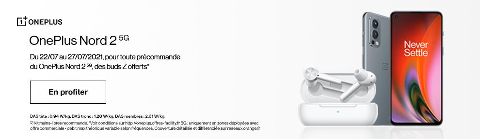 Précommande OnePlus Nord 2