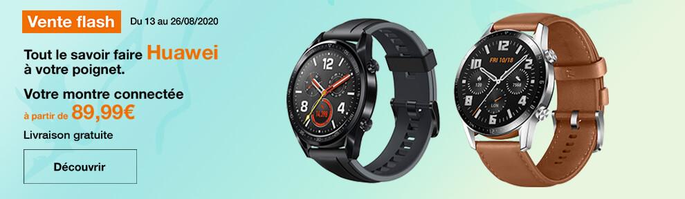 Vente Flash Huawei Watch