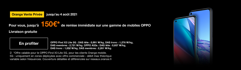vente privée OPPO