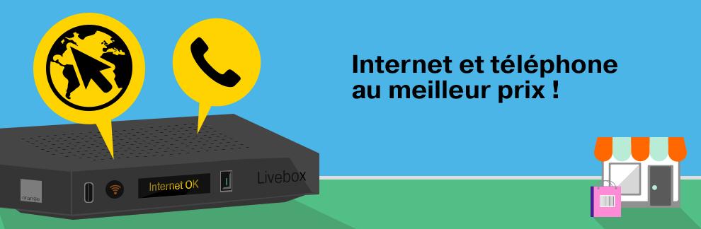 Internet et téléphone au meilleur prix !