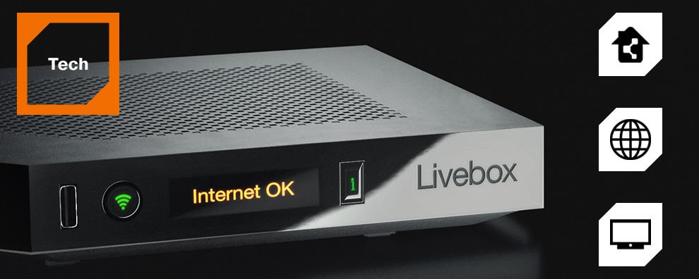 box internet livebox play adsl fibre optique orange. Black Bedroom Furniture Sets. Home Design Ideas